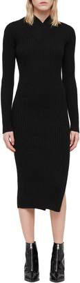 AllSaints Vries Merino Wool Sweater Dress