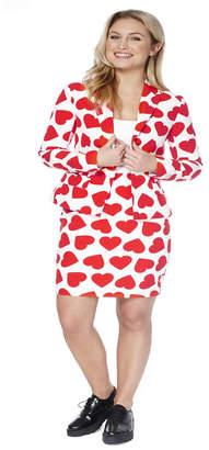 OppoSuits Queen of Hearts Women Suit