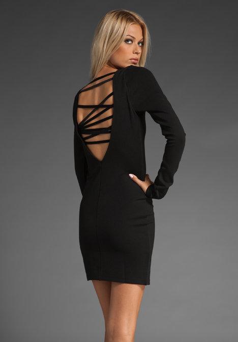 Stylein Faith Lace Up Back Dress