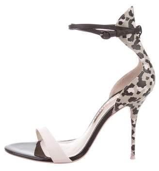 Sophia Webster Leather Ankle Strap Sandals