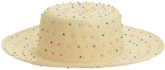 Yestadt Millinery Seed Multicolored Beaded Hat