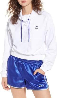 Fila USA Kayla Quarter Zip Nylon Pullover