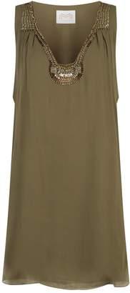 Maryan Mehlhorn Bead Embellished Dress