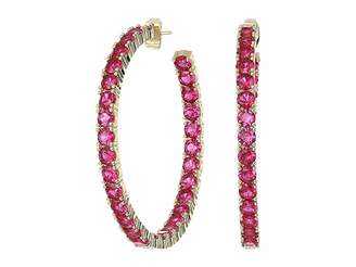 Shashi Bianca Hoop Earrings