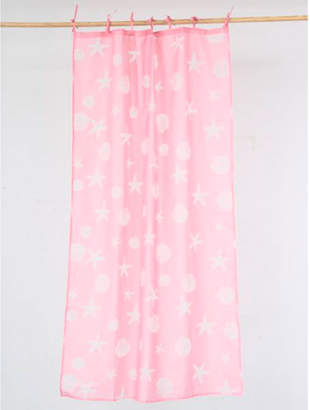 【kahiko】クリアシェルカーテン178cm ピンク