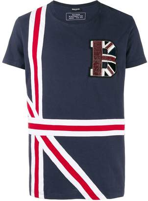 Balmain letter patch T-shirt