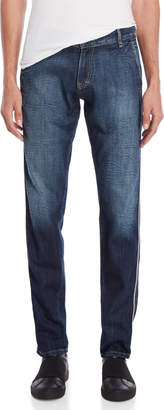 Imperial Star Faded Straight Mid-Rise Jeans
