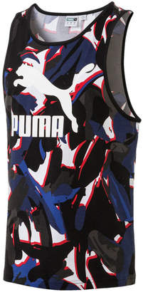 Puma Men Printed Tank Top