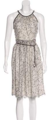 Thomas Wylde Silk Batik Dress