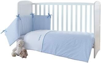 Clair De Lune Barley Bébé Cot/Cot Bed Quilt & Bumper Set.