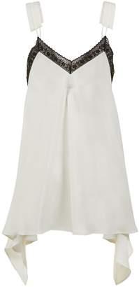 MM6 MAISON MARGIELA Lace Trim Long-line Camisole