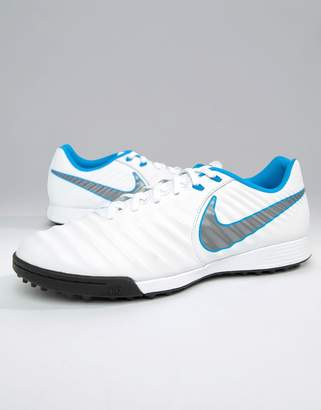 c0e1c6179dec54 Nike Football Legendx 7 Astro Turf Trainers In White AH7243-107