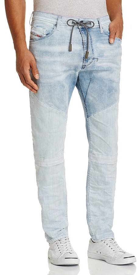 Diesel Diesel Narrot Slim Fit Jogger Jeans in Denim