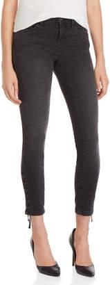 Mavi Jeans Smoke Lace Adriana Ankle Super Skinny Jeans