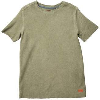 7 For All Mankind Short Sleeve Thermal Tee (Big Boys)