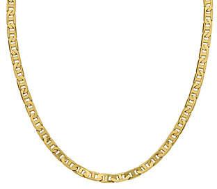 "Italian Gold 20"" Men's Concave Anchor Link Chain, 38.3g, 14K"