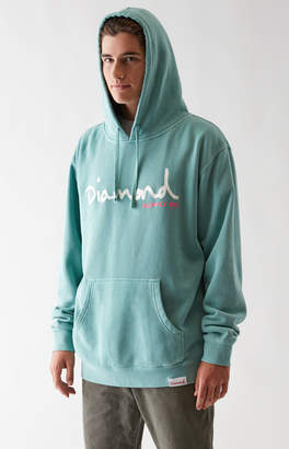 Diamond Supply Co. OG Script Washed Pullover Hoodie