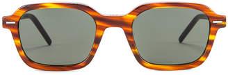 Christian Dior Technicity Sunglasses in Havana   FWRD