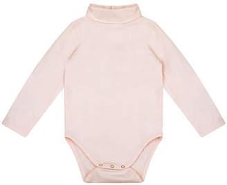 Velveteen Bethany Turtleneck Long-Sleeve Bodysuit, Size 12-24 Months