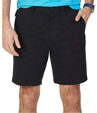 Nautica Men's Cotton Twill Flat Front Chino Short