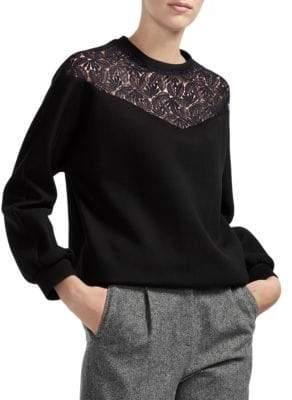 Maje Lace Sweater