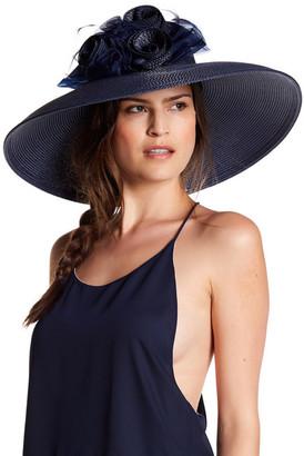August Hat Hibiscus Wide Brim $80 thestylecure.com
