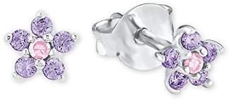 Prinzessin Lillifee Girls Silver Stud Earrings - 2021109