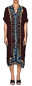 Raquel Allegra Women's Tie-Dyed Silk Caftan Dress