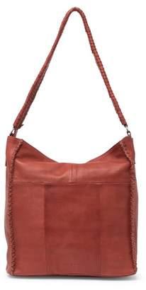 Day & Mood Leather Pixie Hobo Bag