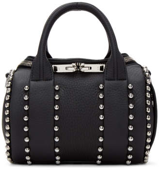 Alexander Wang Black Mini Rockie Ball Stud Bag