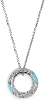 Marc Alary Diamond & 18kt White Gold Necklace - Womens - White Gold