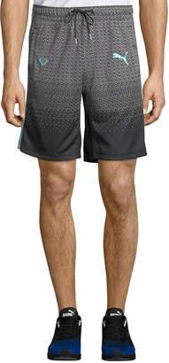 Puma Men's X Diamond Track Shorts, Black