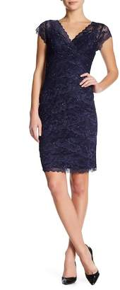 Marina Beaded Lace Bodycon Dress $129 thestylecure.com