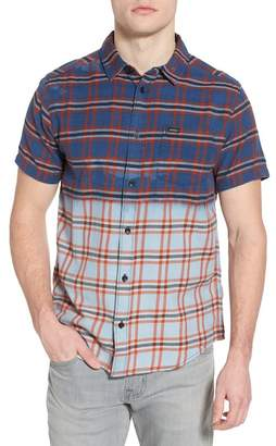 RVCA Prismatic Check Woven Shirt