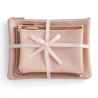Lauren Conrad Cosmetic Bag Set