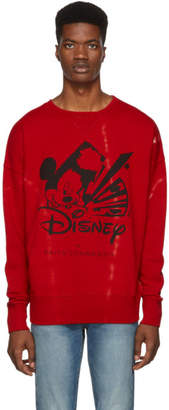 Faith Connexion Red Disney Edition Sweatshirt