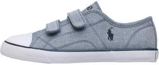 Ralph Lauren Boys Dyland EZ Canvas Trainers Blue Chambray