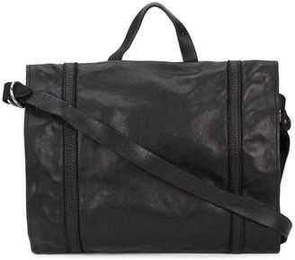 Guidi zipped shoulder bag