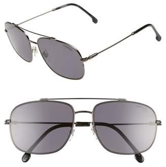 Carrera Eyewear 60mm Special Fit Polarized Navigator Sunglasses