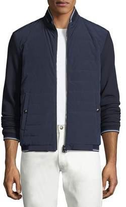 Ralph Lauren Quilted Reversible Baseball Jacket