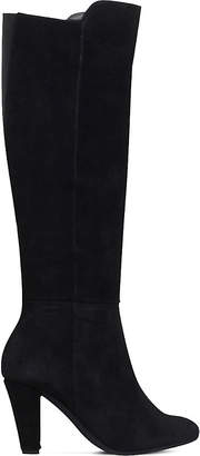 Carvela Comfort Viva suede heeled knee-high boots