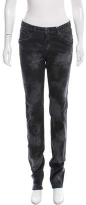 LGB Printed Mid-Rise Jeans