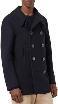Burberry Claythorpe Double-Breasted Peacoat