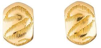 Christian Dior Textured Clip-On Earrings
