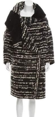 Chloé Oversize Bouclé Coat