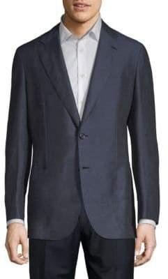 Brioni Linen & Silk Suit Jacket