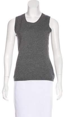 Akris Punto Wool & Cashmere-Blend Sleeveless Top