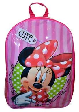 Disney Minnie Mouse Minnie Pvc Front Backpack