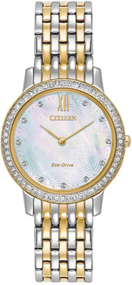 Citizen Women's Silhouette Crystal Watch