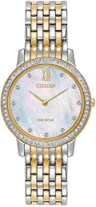 Citizen Women's Silhouette Crystal Watch